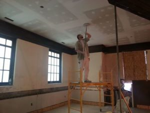 library-drywalling
